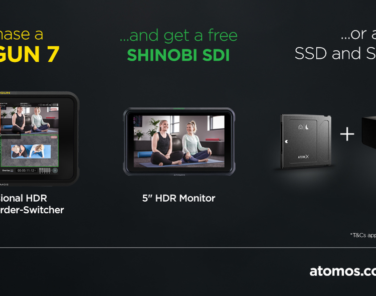 Atomos marks 10-year anniversary with Shogun 7 promotion