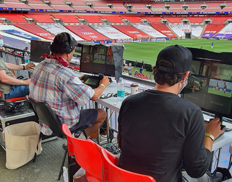 CJP Broadcast Fields Live Sports Production and Streaming System for Major-League Football Semi-Finals and Final
