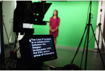 EBU, IBC, Imagine Communications, LiveIP, VRT, Post-Production Equipment, News