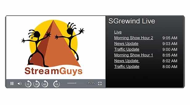 Live stream, Pause, Player, Rewind, SaaS, News, International News, IBC show