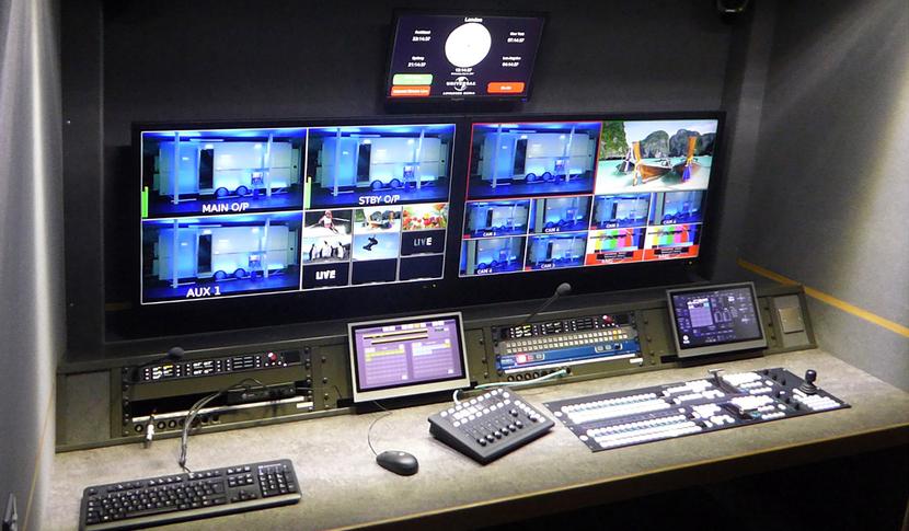 $k, ATG Danmon, BBC, Newsroom, OB vehicle, SDI/IP, Systems integration, Television, Video production, TV & Video Production, News, International News