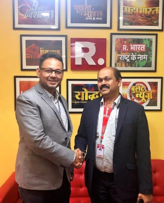 LiveU, Broadcast, Republic tv, R bharat, HEVC, Transmission, News, India news