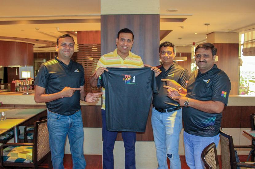 imd1's association with legendary cricketer, VVS Laxman