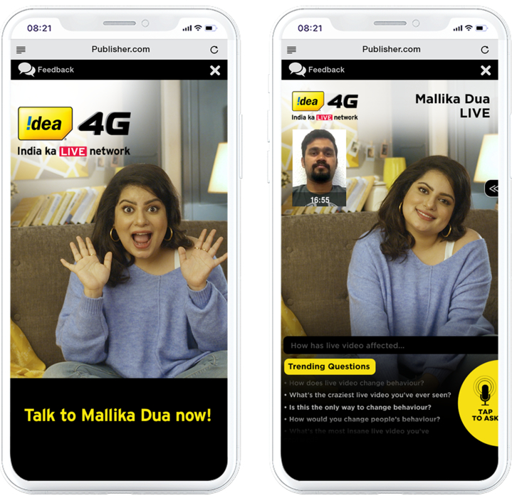 Idea 4G #IndiaKaLiveNetwork initiative