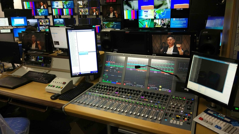Calrec Brio12 marks TVB's 10th Calrec console