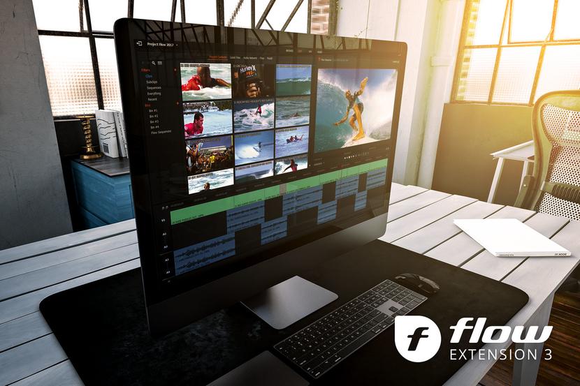 Editshare Flow 2019 Extension 3