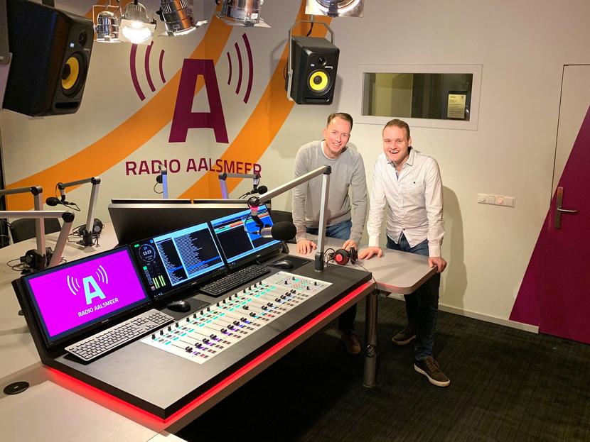 Lawo Crystal and RƎLAY at the Radio Aalsmeer facility