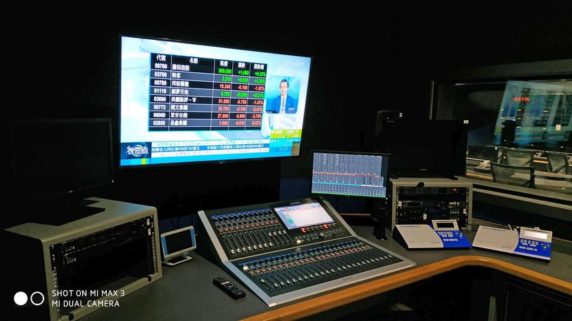 Calrec  AoIP solutions at the ViuTV studio