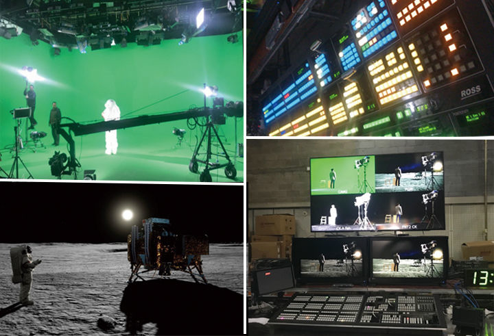 Ross Video supports CCTV's UHD 'Mission to The Moon'