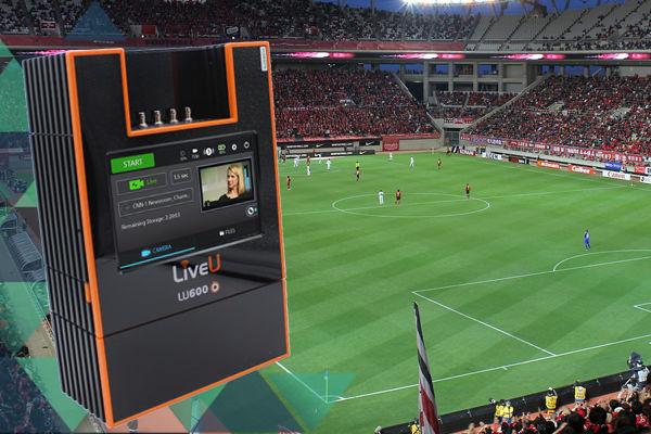 LiveU's flagship LU600 HEVC 4K SDI solution