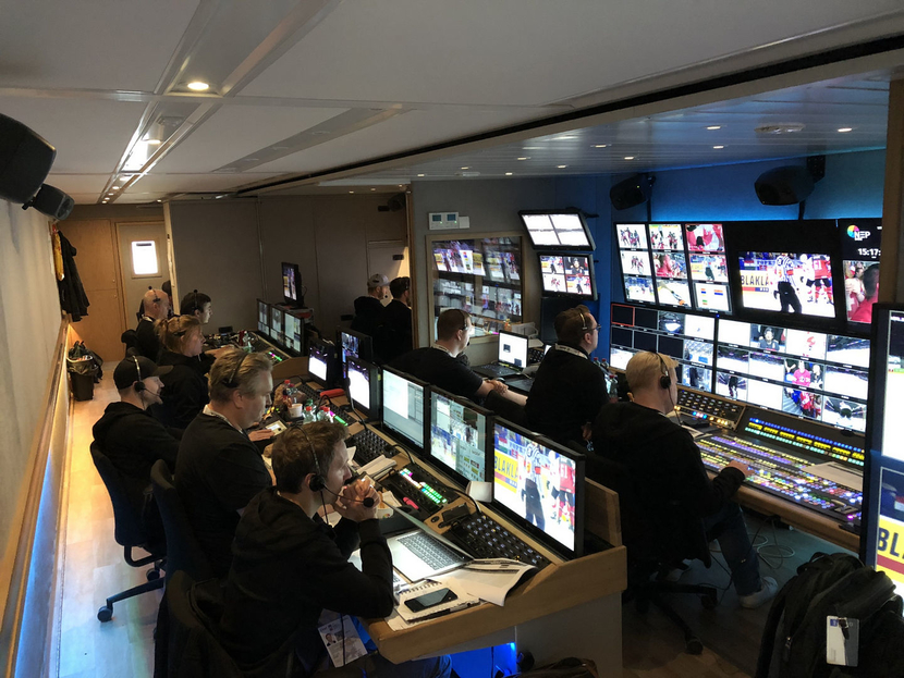 Broadcast Solutions and NEP The Netherlands deploy 24 camera UHD OB truck
