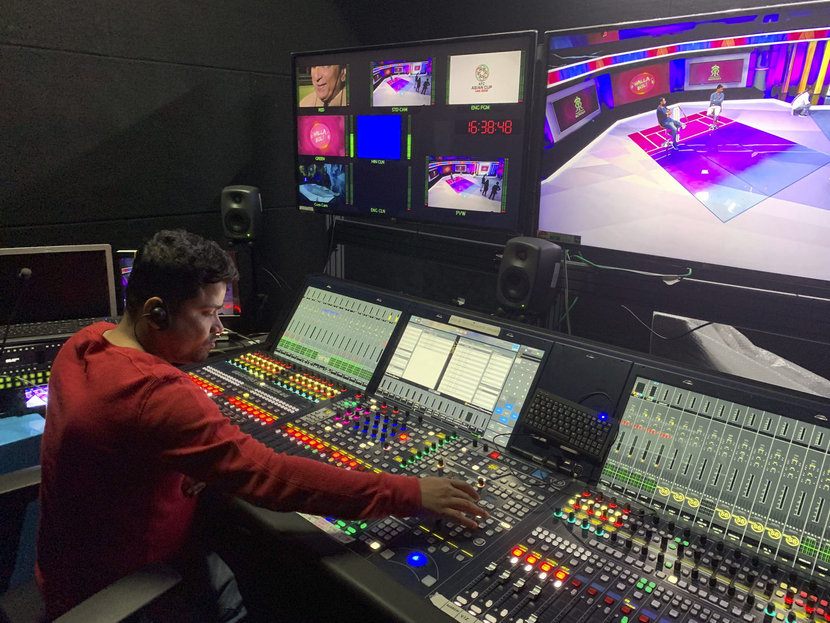 Lawo plays star role in IPL broadcast