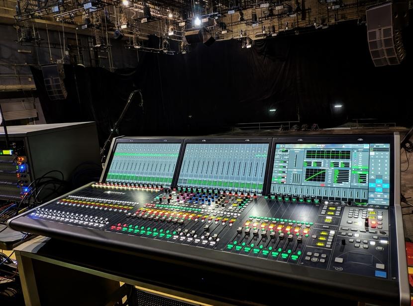Lawo consoles at the CCTV studio