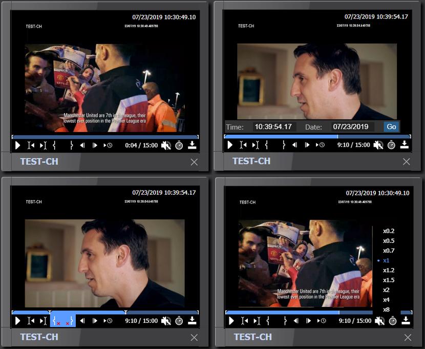 Qligent Vision Repurpose video wall