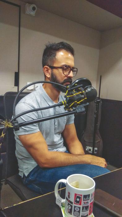 Varun-Duggirala, host of show 'Advertising is Dead'