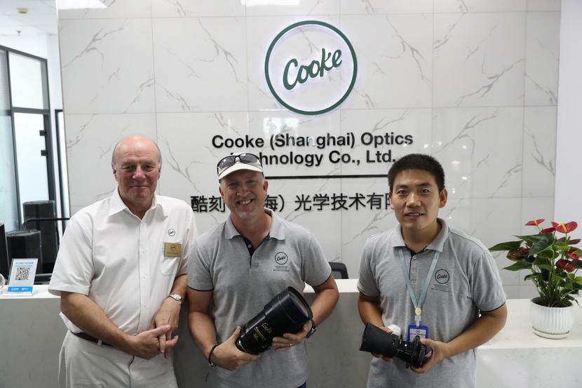 Cooke Optics steps foot in Shanghai, China