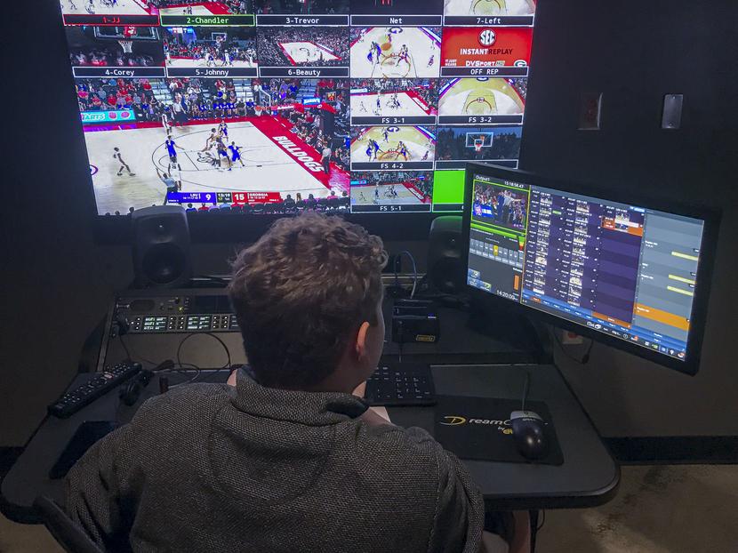 Riedel Artist and Bolero Wireless across University of Georgia sport venues