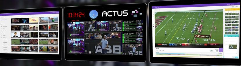 Actus Digital media platform
