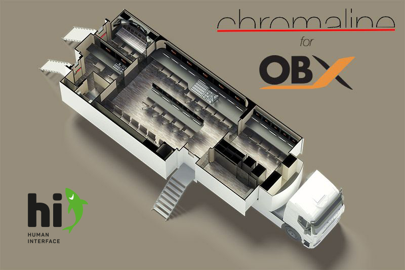 Ob, Ob van, Outside broadcast, Broadcast, Italy, IBC, Amsterdam, Chromaline, Human interface, Audio, Video, Production