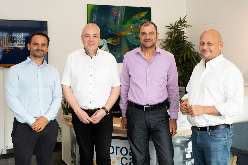 Broadcast Solutions Middle East team