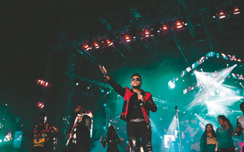 A. R. Rahman, live in-concert