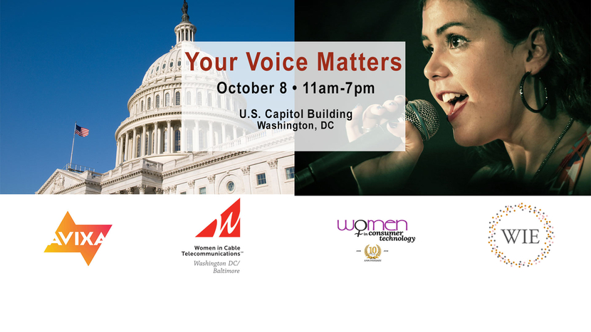 CT, Your Voice Matters, Washington, D.C, AVIXA, Cable Telecommunications, Women in Cable Telecommunications, Women in Entertainment, WiCT, Women in Consumer Technology, NPD Group, Carletta S. Hurt, Tv series