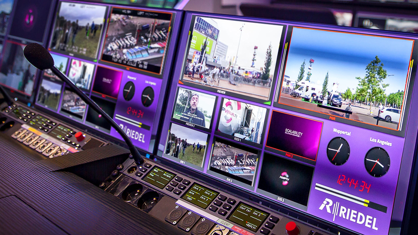 Riedel's new MediorNet MultiViewer App delivers the benefits of a decentralised signal network by enabling multiviewer hardware to be placed anywhere it's needed.