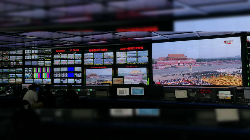 Nevion Virtuoso, TICO, China, China Central Television's (CCTV), Hans Hasselbach, Nevion equipment instrumental, Live broadcast, Production solutions, Virtualized media, Tiananmen Square, Television station, Live coverage