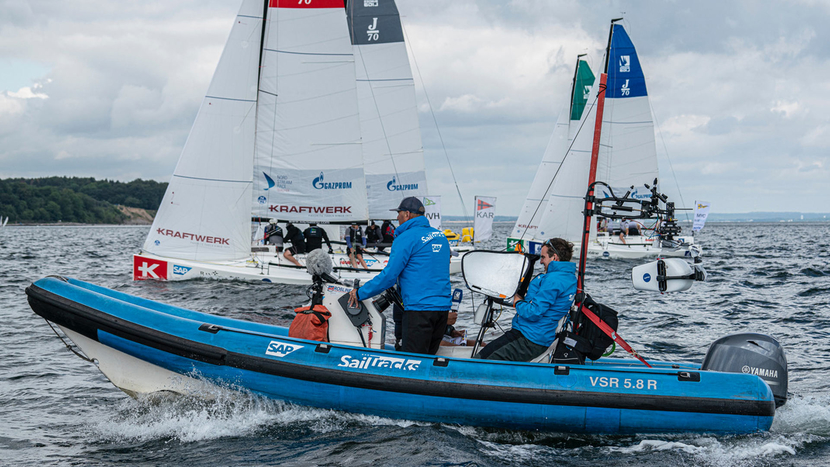 AVIWEST's PRO3 bonded cellular transmitters and StreamHub transceiver enables SailTracks to stream sailing races directly onto Facebook and YouTube, providing real-time results and insights