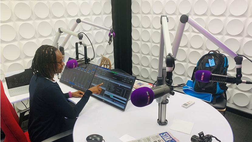 Kenya, LAWO, KISS FM, Radio broadcast technology, Mount Kenya, Media landscape, Radio Africa Group, RƎLAY software, RƎLAY Virtual Radio, Virtual Radio technology, KISS FM, Broadcast Studio