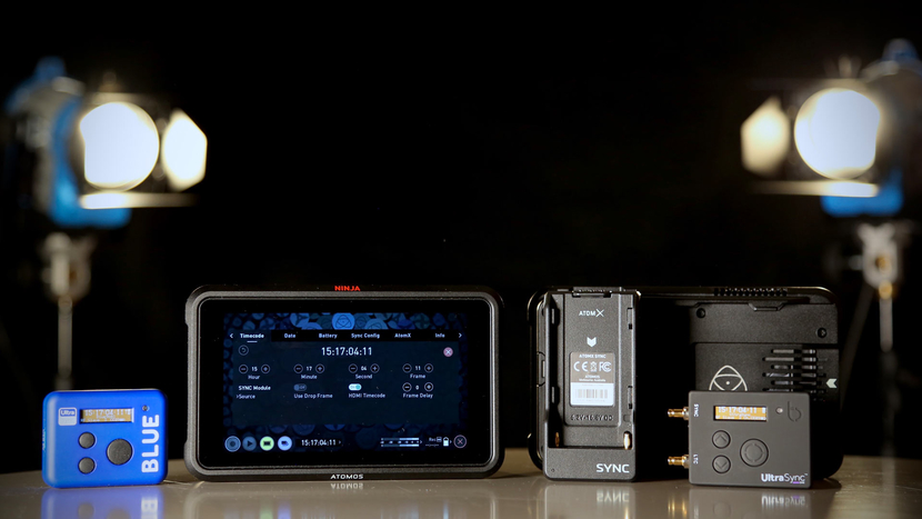 The Ninja V AtomX Sync module is the first Atomos product to include Timecode Systems powered features.