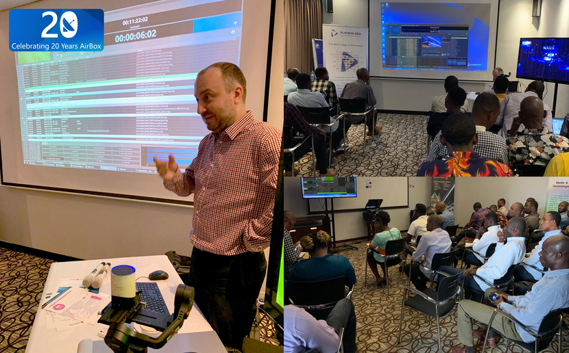 Playbox, Playbox neo, Advanced Media Playout, Broadcast Technology, Event in Lagos, Nigeria, MENA market, Cloud2tv, Channel-in-a-box, Pavlin Rahnev
