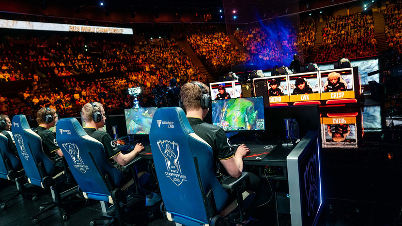 Riot Games, Nevion Virtuoso, JPEG XS, Remote production, League of Legends World Championship Final, Esport, Esport production, Michael Caal, Hans Hasselbach, Nevion, Santa Monica, Riot Games Esports Technology Group, XS