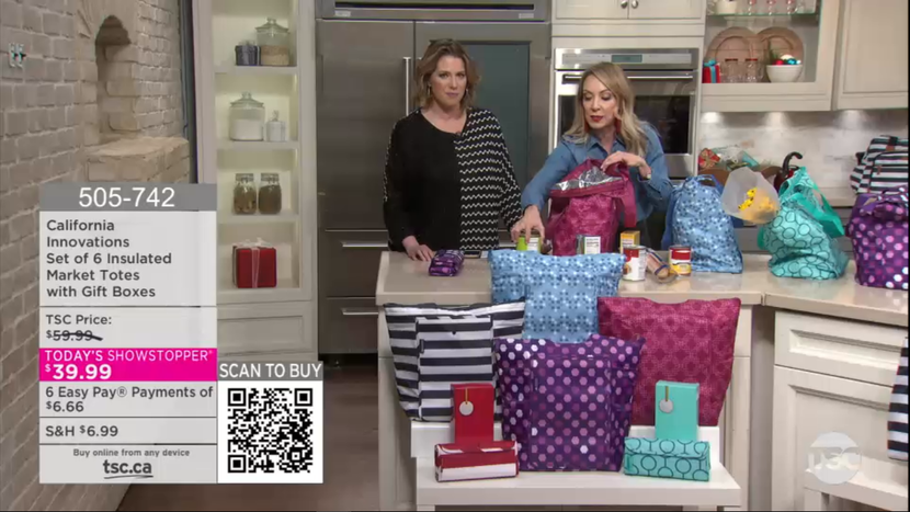 Bannister Lake has successfully added QR codes to 'Today's Shopping Choice' (TSC) on-air graphic presentation, creating exciting new purchase possibilities for viewers.