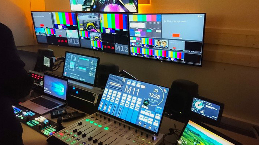Broadcast Solutions, Finland modernises, Director's Cut production, Finnish production, Helsinki, Lawo LCUs, One Grass Valley, Ruby console, Lawo VSM, Champions League, Lawo VisTool, Lawo powercore, 1ME Kula vision, Audio