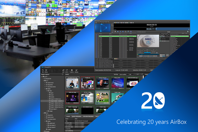 Playbox, TV, Broadcast, Playout, Thailand, Channel in a box, Cable, Satellite, Playlist, Northwestern university, Nwu, IPTV