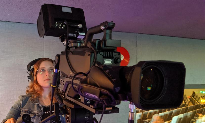 Hitachi, Camera, Hope city church, Broadcast, Projector, Screen, Live stream, Video, Led, Light