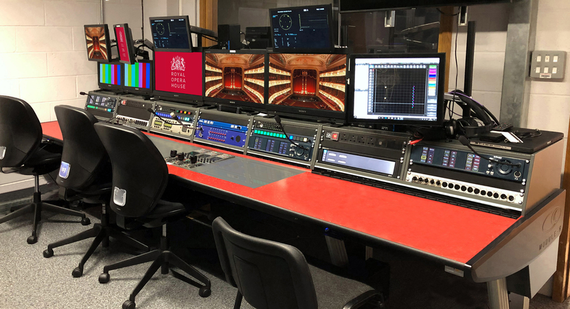 ROH, Technical Control Gallery, Leader Europe, The Royal Opera House, London, Mark Thackeray, CIE color chart, High dynamic range, Focus assist, Cinezone, Cinelite, Camera channels, Waveform monitor, Cinema audiences