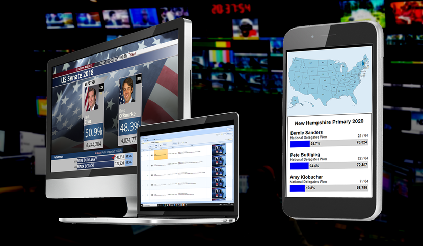 Bannister Lake to showcase real-time election data solutions across all platforms