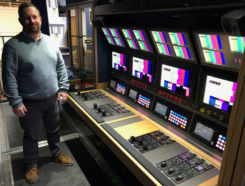 Arena Television, Live Production Truck, Grass Valley, Grass Valley hybrid router, OB17 project, Leader's European Regional Development Manager, Kevin Salvidge, Cinezone, Cinelite