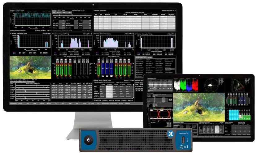 PHABRIX, World's most compact rasterizer, NAB Show, 2020, Test and measurement instruments, Discovery and Registration