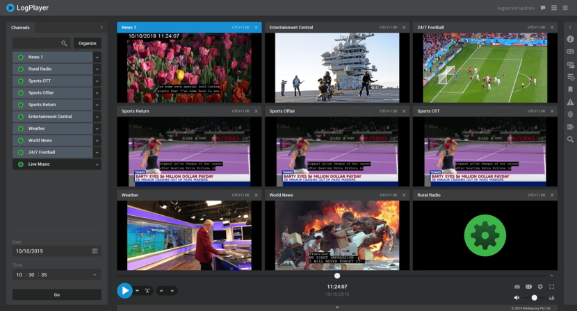 Mediaproxy, IP-based solutions and OTT monitoring, 2020 NAB Show, Logserver, Las Vegas, 4K HDR, Multiviewer