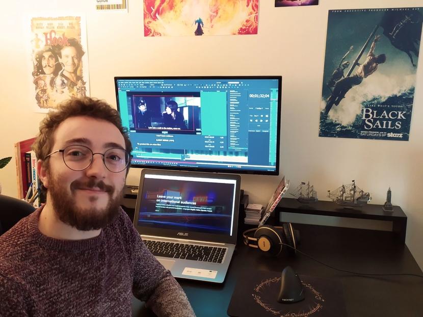 Auvi Translator Pro Film, TV Subtitler, Riccardo Mimmi, Subtitlenext