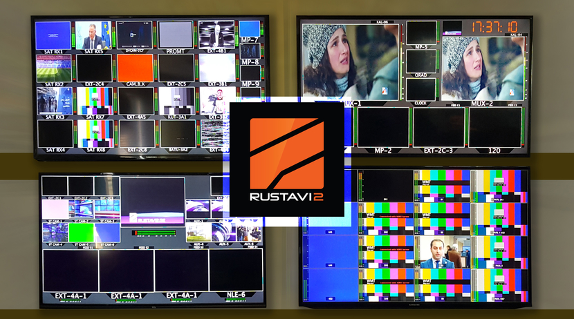 Georgian, TV Broadcaster, Rustavi 2, Playbox, George Gocha Kumsiashvili, Production & Technical Support, Adds Sergei Kazaryants, RTMP, ListBox Neo