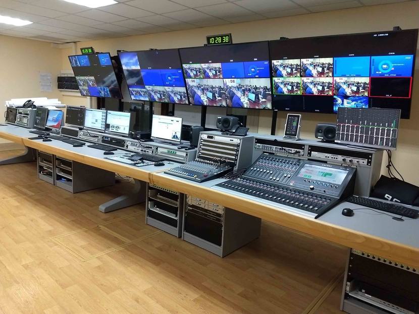VGTRK, Calrec Brios, HD regional studio upgrade, OKNO-TV, Allen & Heath ZED16, Michael Reddick