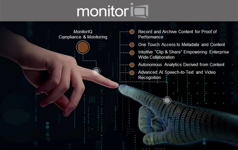 Digital Nirvana's MonitorIQ Broadcast Monitoring and Compliance Logging Platform