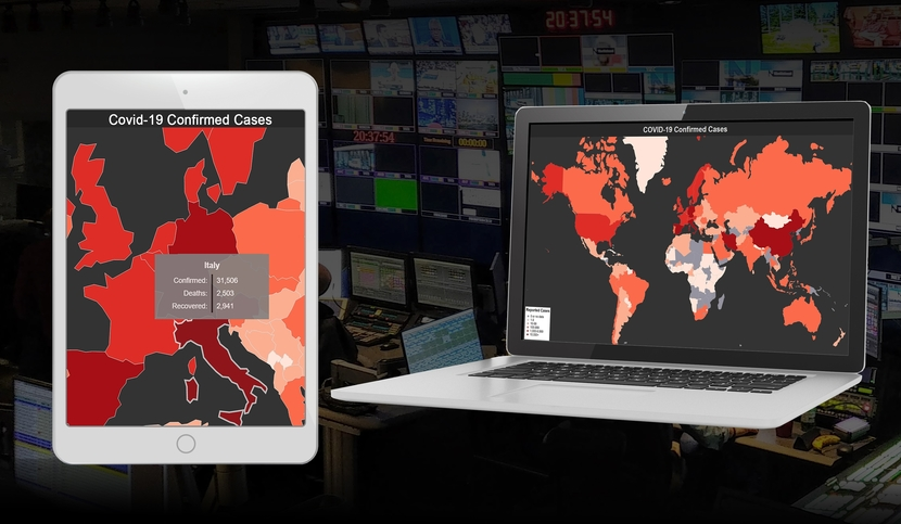 Bannister Lake releases free COVID-19 data and web widget to provide customers with reliable pandemic data and visualization options.