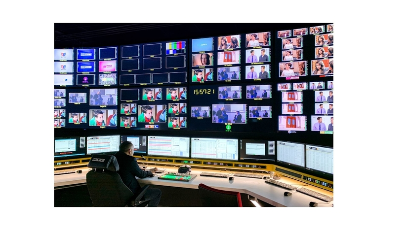 Riedel, MediorNet and Artist, Signal Routing and Comms, Studio Upgrade, HD, RTL Group, Luxembourg-based digital media