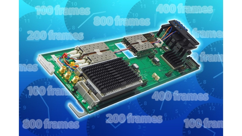 Crystal Vision, IP AND SDI, MARBLE-V1, Media processor hardware, Two dual channel video, M-VIVID, Philip Scofield