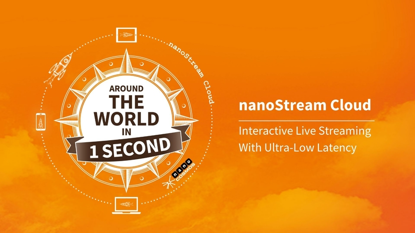 Nanocosmos, Ultra-Low-Latency, Live streaming, Adaptive bit rate, Webcasting, Live auctions, Gaming, Sports betting, Polling, E-commerce, E-learning, Entertainment, Global CDN services, Quality of Service